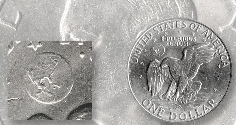 'Friendly Eagle' flies on few 1971-D Eisenhower dollars: Q. David Bowers