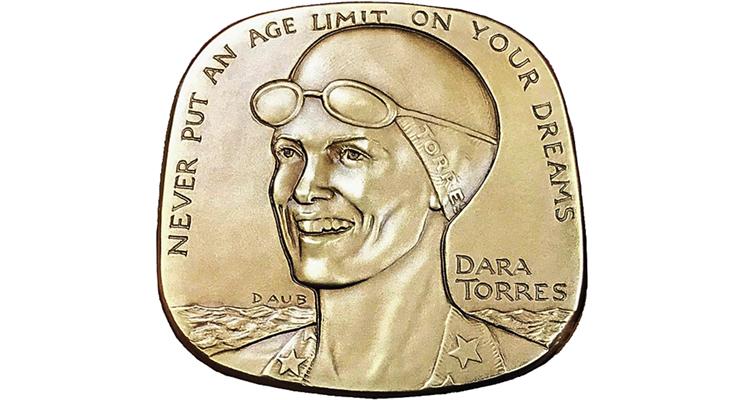 Dara Torres medal