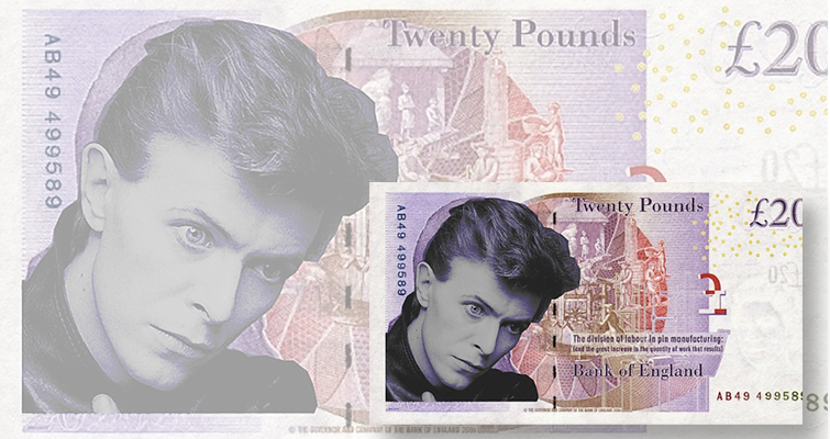 Bank of England not receptive to proposal for David Bowie note
