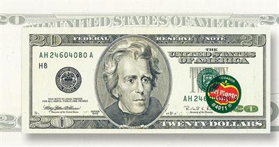 Del Monte $20 note