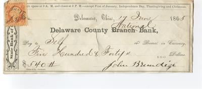 delaware-county-national-bank-check-w-2-cent-internal-revenue-stamp