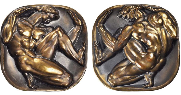 delue-medal