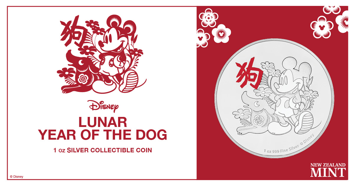 Niue Celebrates Year Of The Dog With Mickey Mouse Coin World