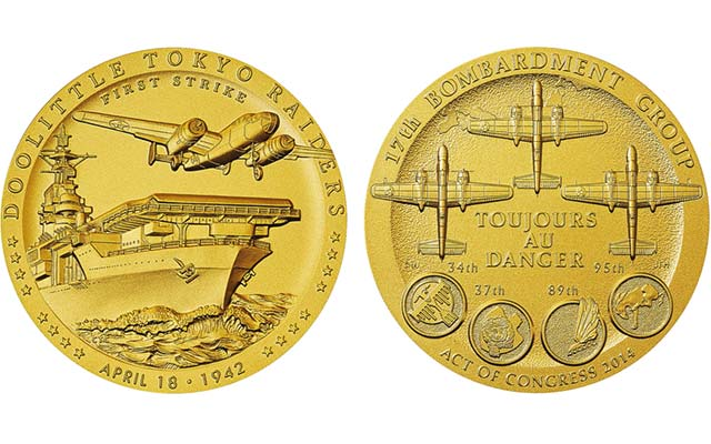 Doolittle Tokyo Raiders receive gold medal from congressional  leadership