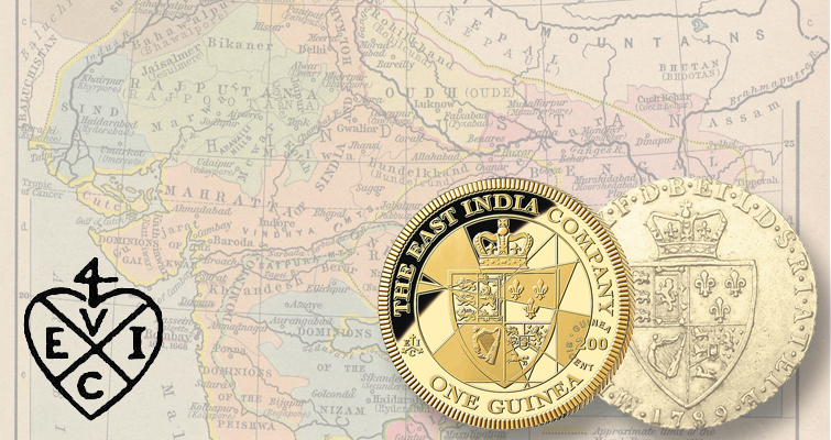 East India Company strikes gold with guinea commemorative coins