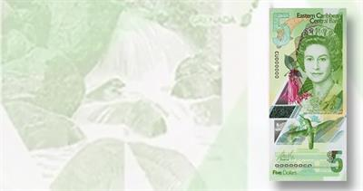 Eastern Caribbean Central Bank $5 note