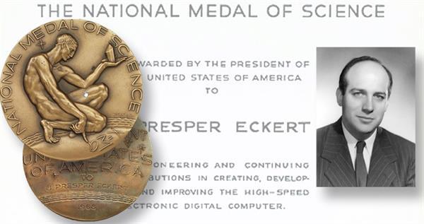eckert-science-medal