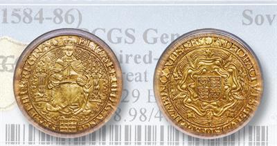 Elizabeth 30 shilling