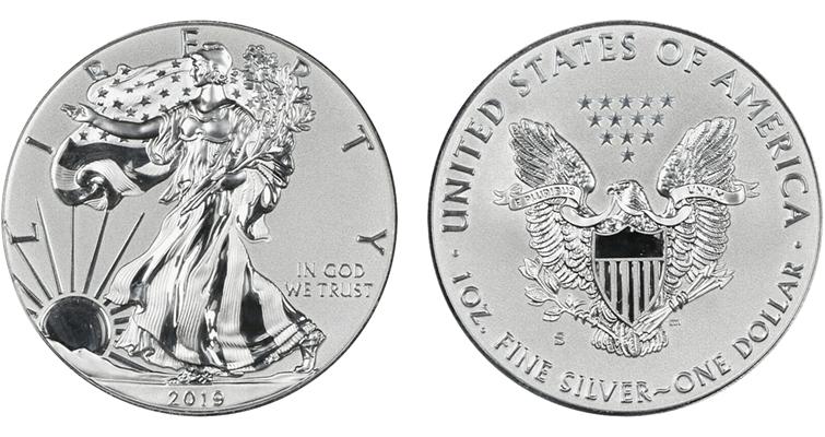 Reverse Proof American Eagles