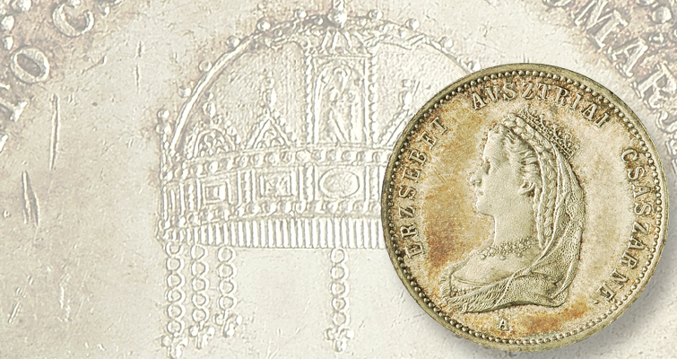 Coronation medal depicts a portrait of Empress Elisabeth: The Research Desk