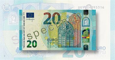 2o euro note