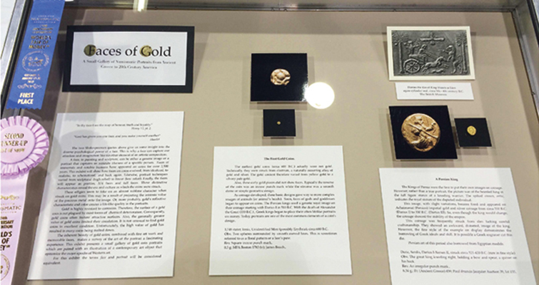 Flap, Flutter and Float Exhibit wins at 2015 ANA World's Fair of Money