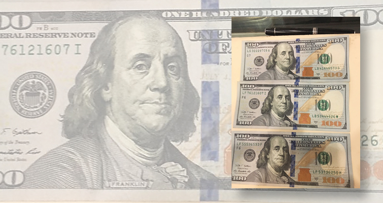 Spectacular mismatched serial numbers note too good to be true