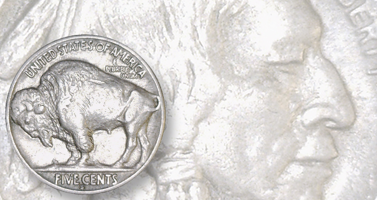 Altered 1913-S Indian Head 5-cent coin: Detecting Counterfeits