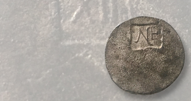 Could a purported silver New England shilling found in Alabama be genuine?