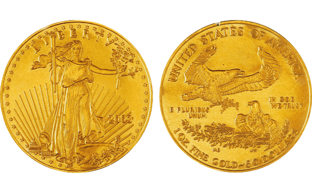 Ohio Dealer Reports Counterfeit Gold American Eagle