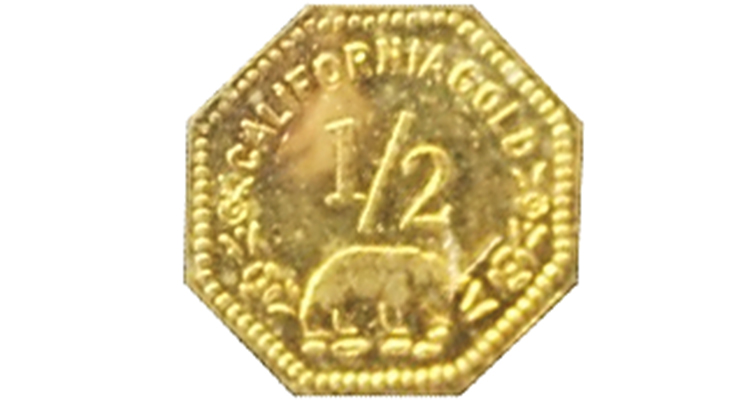 Replica brass or plated disks, depicted in the photo above, are a fourth kind of fake fractional gold. The disks, manufactured in China for the most part, do not carry the word COPY and are in violation of the Hobby Protection Act.