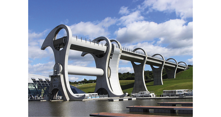Falkirk Wheel Sean McClean