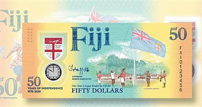Fiji 50-dollar commemorative