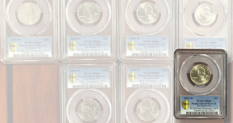 2019-W San Antonio Missions National Quarter First Week of Discovery MS65 PCGS