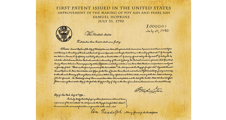 first-us-patent