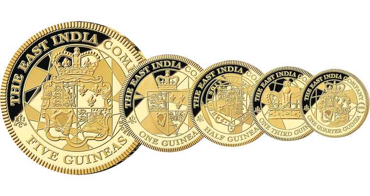 five-gold-guineas-together
