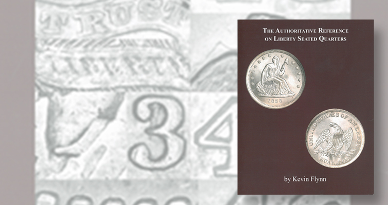 Author self-publishes new reference on Seated Liberty quarter dollars