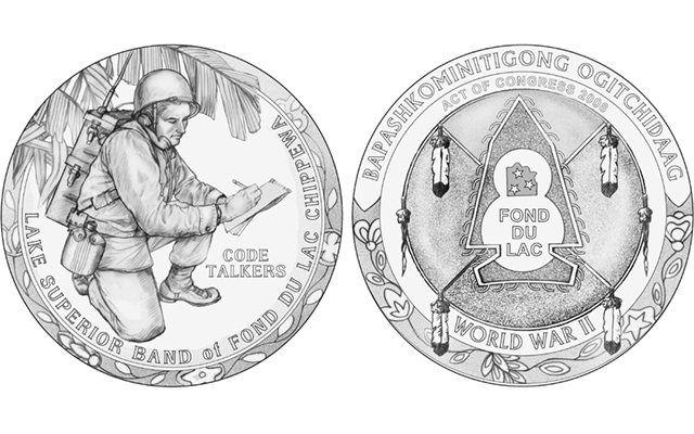 CCAC members vote on Code Talkers, Civil Air Patrol congressional gold medal designs