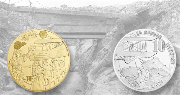 france-world-war-one-coins