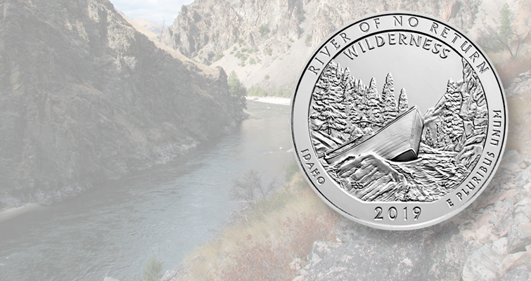 2019 P+D Frank Church River of No Return Idaho Quarter America the Beautiful
