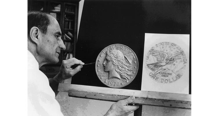 frank-gasparro-works-on-1977-liberty-dollar-online