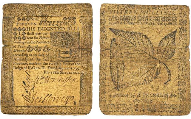franklin-bill--1739