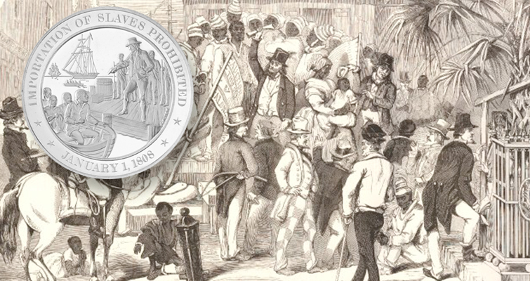 Marking abolition on world coins and medals: Going Topical