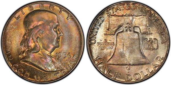 A 1956 Franklin half dollar is among the recent purchases our Coin World Facebook fans shared with us.