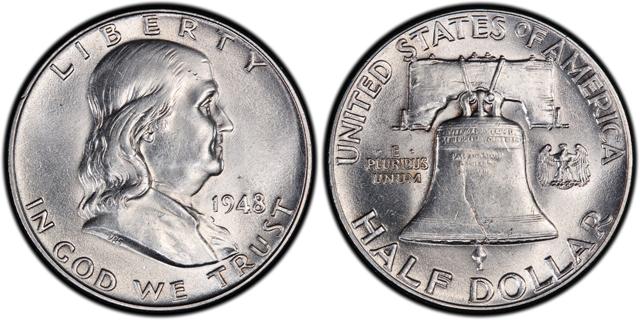Know Your U S Coins Franklin Half Dollars