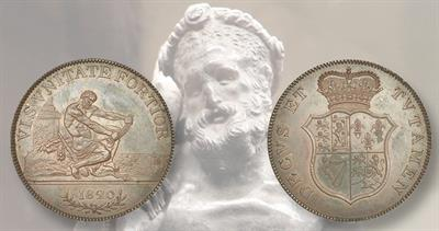 George III Hercules pattern coin