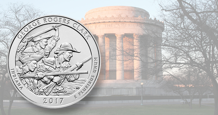 1,800 participate in launch of the George Rogers Clark quarter dollars