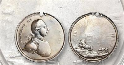 George III Lion & Wolf medal