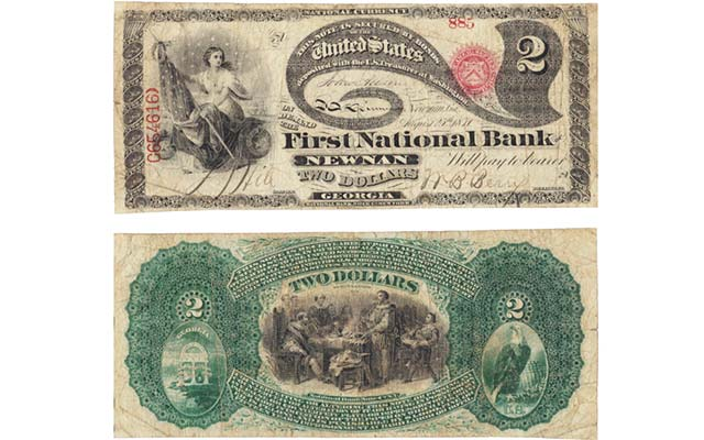 'Most important' Georgia national bank note, others draw auction attention