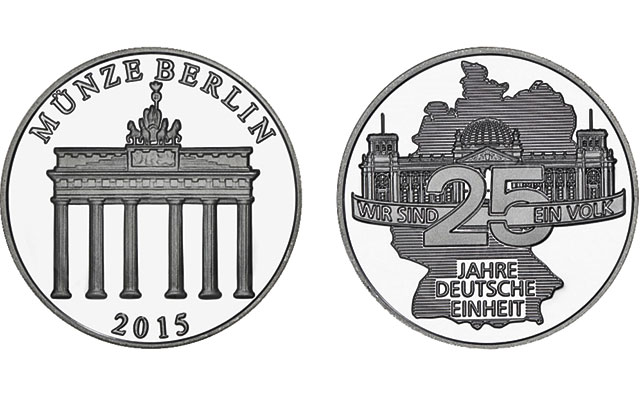 Berlin Mint issues annual silver medal during World Money Fair