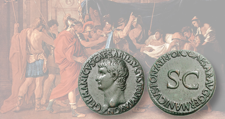 germanicus-bronze-as-coin-painting