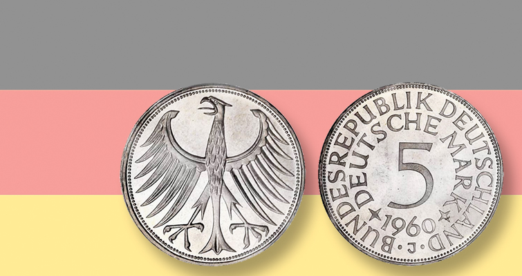 Condition rarity modern coin from Germany in Spink auction