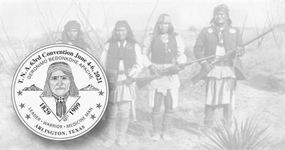 Geronimo medal for TNA 2021