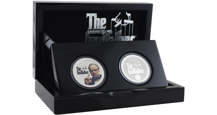 The coins are offered in two-coin sets, with a mintage limit of 5,000 sets.
