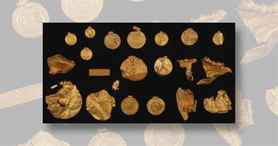 Gold hoard discovered in denmark