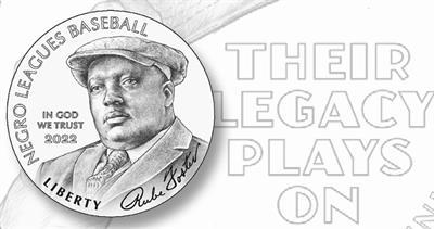 Negro Baseball Leagues gold $5