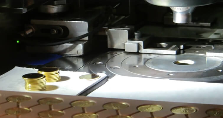 Watch the new Standing Liberty gold quarter dollar coin being struck [VIDEO]