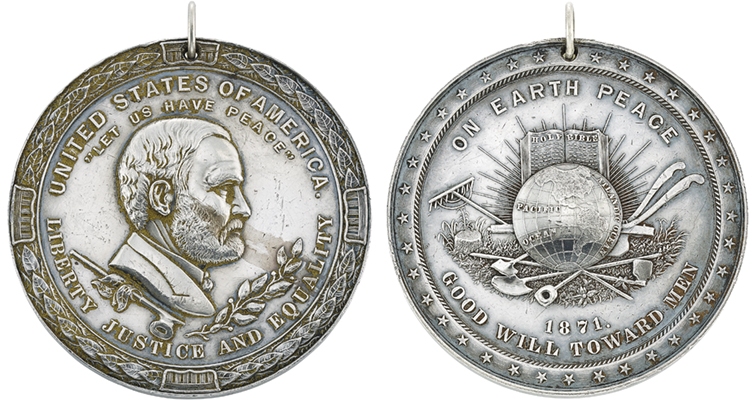 Doyle Auction Features Silver Indian Peace Medals Coin World