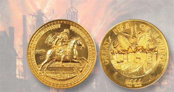 great-fire-london-gold-medal