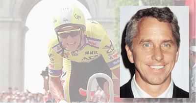 Cyclist Greg LeMond